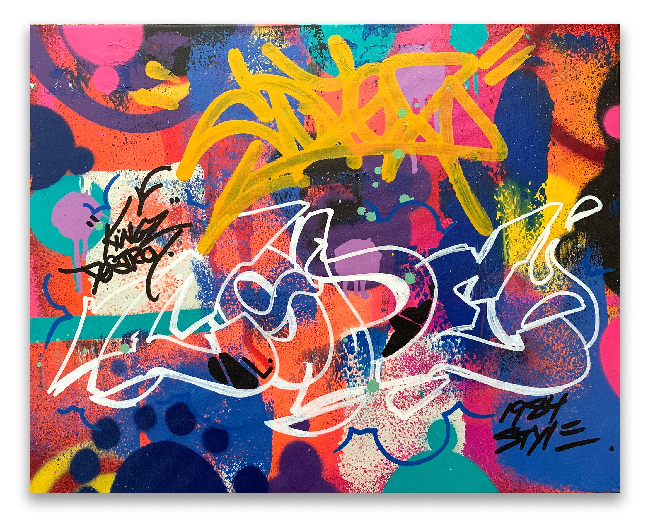 "COPE2 - ""1984 Style Wild style"" Painting"