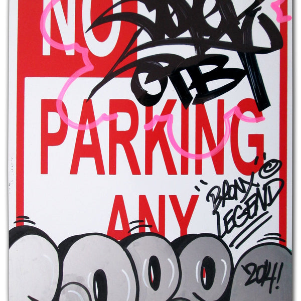 "COPE 2 - ""Bronx Legend"" No Parking Sign"