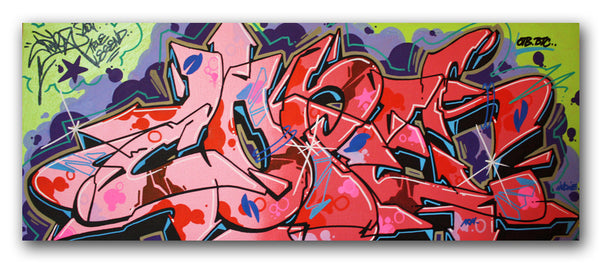 "COPE 2 - ""Green Wildstyle"" Canvas"