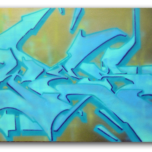 "YES2 - ""Aqua Boogie"" painting"