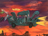 "Rick Prol -  ""Dada Car"" - Painting"
