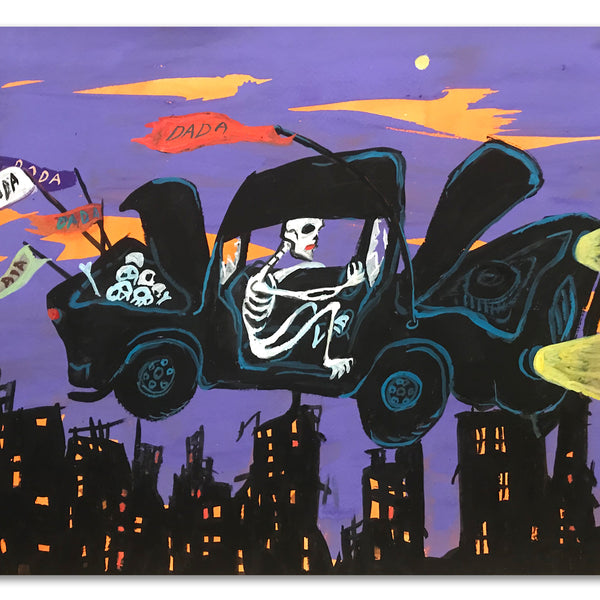 "Rick Prol -  "" Car"" - Painting"