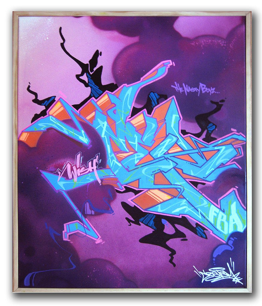 "CES ONE - ""Untitled #8"" Painting"