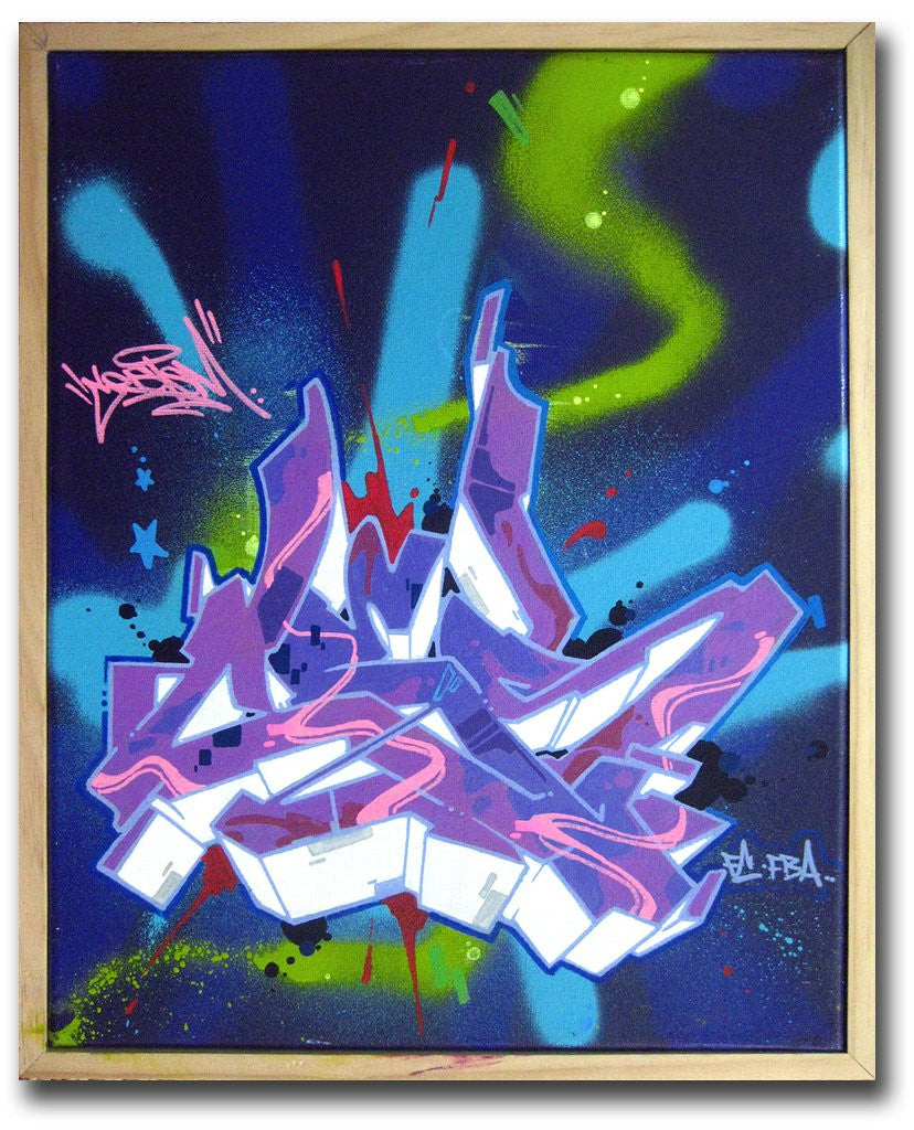 "CES ONE - ""Untitled 1"" Painting"