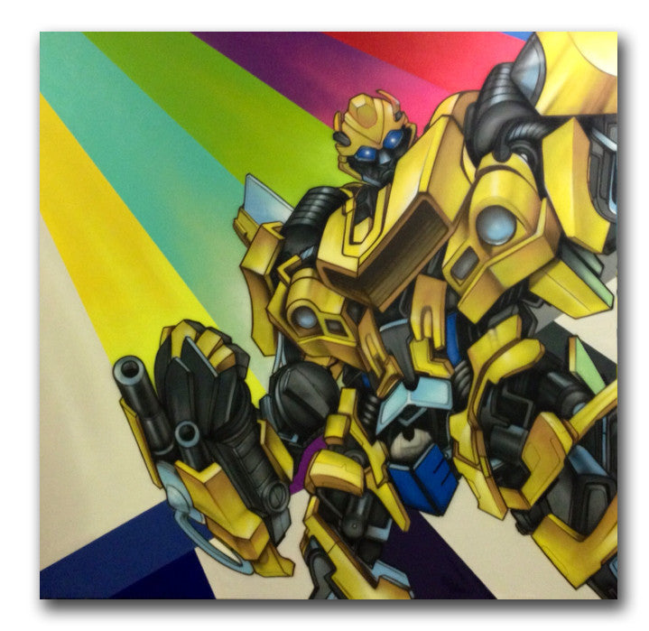 "CES-ONE - ""Transformer"" Painting"