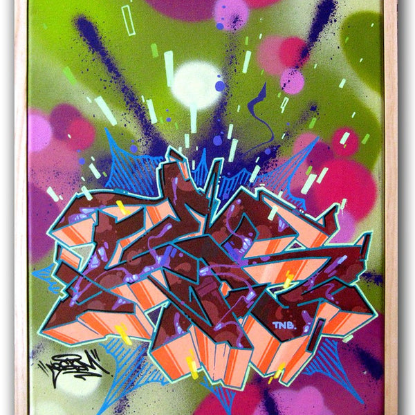 "CES ONE - ""Untitled 5"" Painting"
