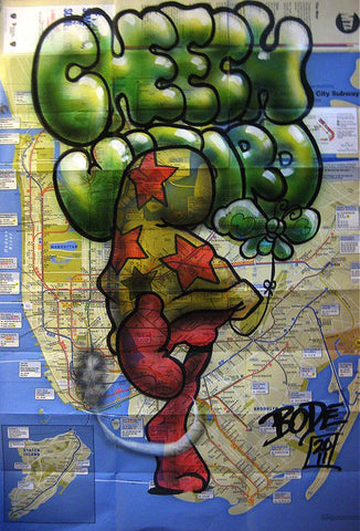 "MARK BODE  ""Cheech"" Map"