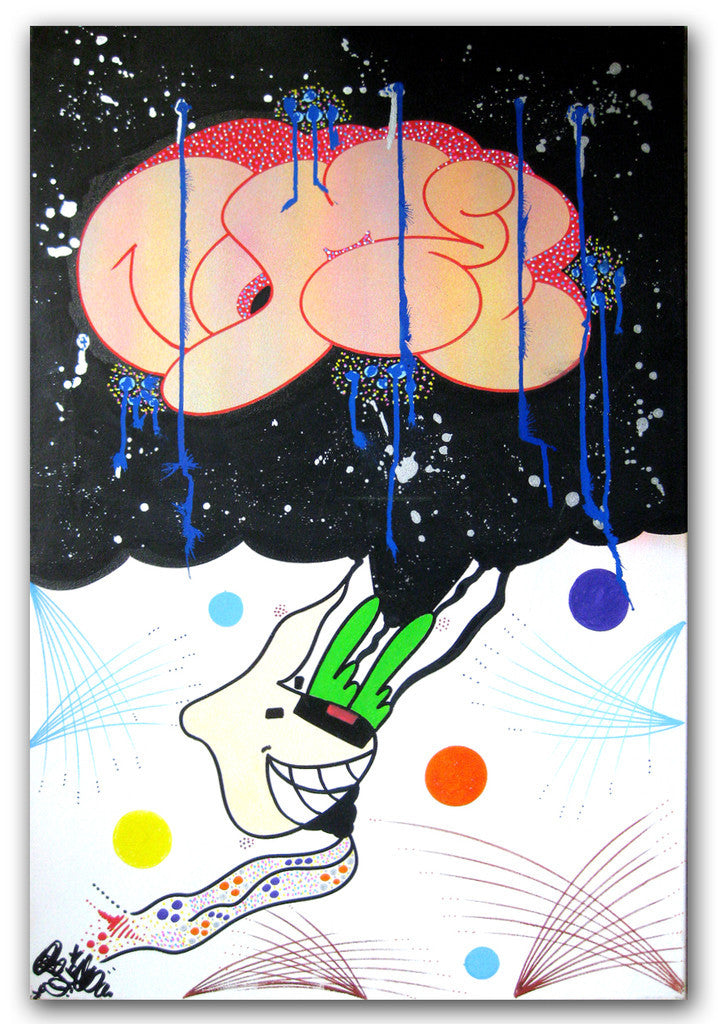 COMET - Spaced Out Painting