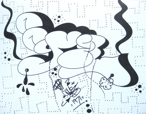 COMET - Untitled #15 - Drawing