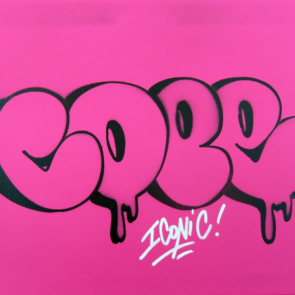 "COPE2 - ""Bubble Stencil #1"" Painting"