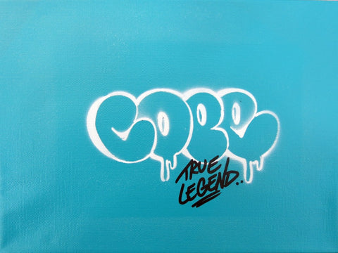 "COPE2 - ""Bubble Stencil #6"" Painting"