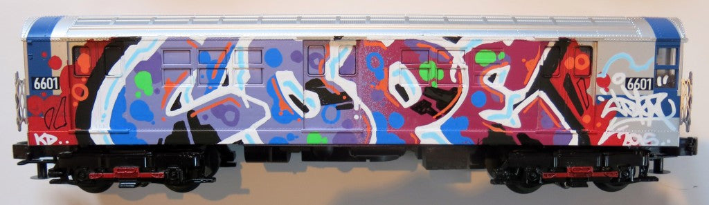 "COPE2 - ""Subway Model 3 Train"" Painting"