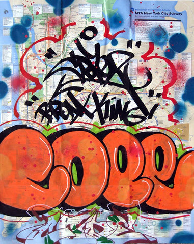 "COPE 2 - ""Bronx King"" Orange"