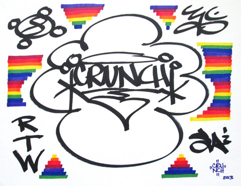 CRUNCH - SOUL ARTISTS -  Drawing