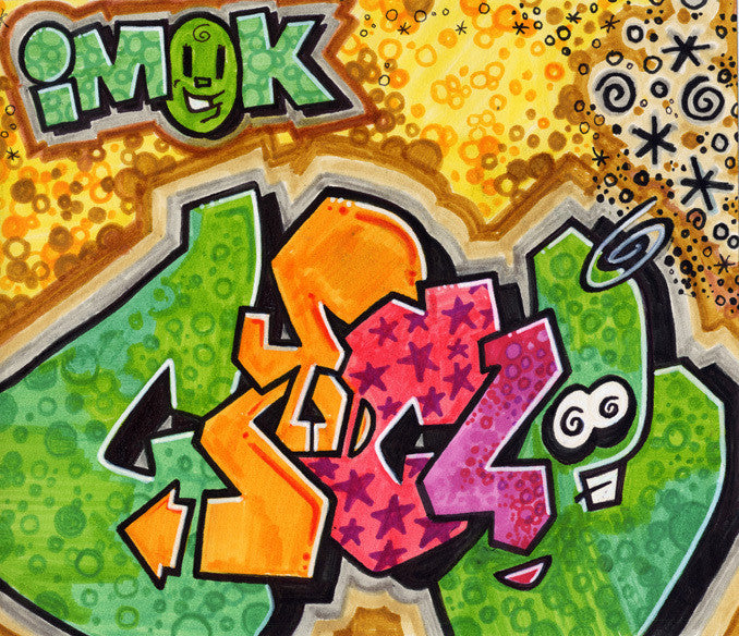 CYCLE  -  Imok Black Book Drawing