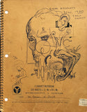 "DANIEL JOHNSTON- ""Untitled"" Notebook Drawing 1980"