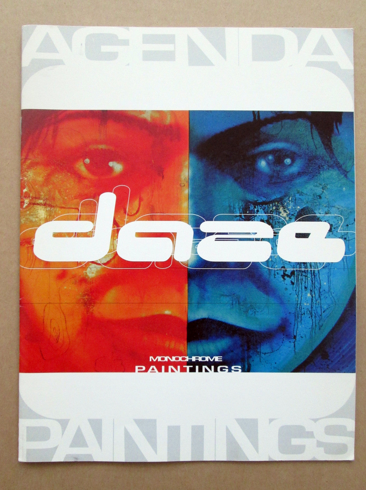 "DAZE - ""Monochrome Agenda Paintings"" catalog"