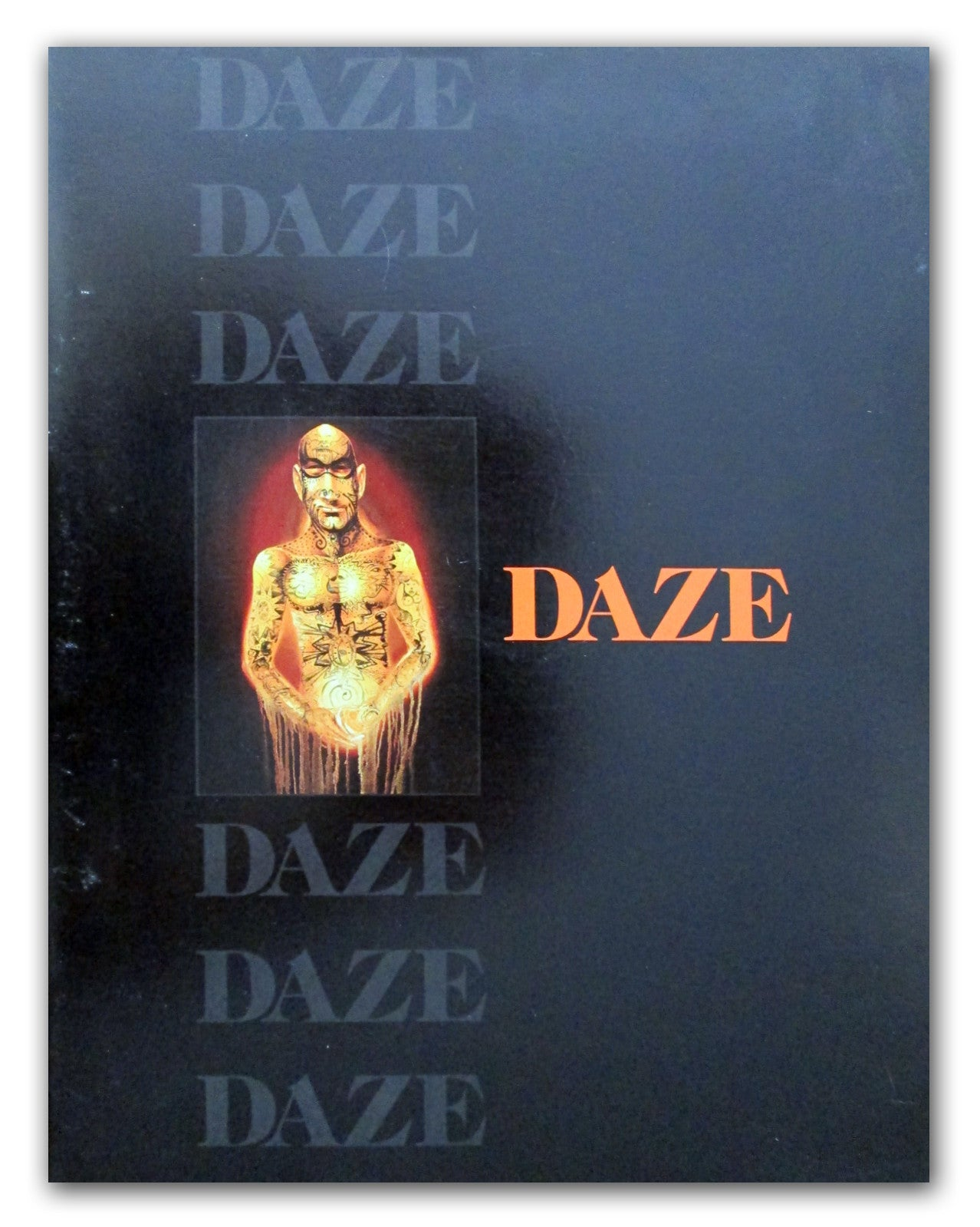 "DAZE - ""Paintings 1991 - 1998"" catalog"