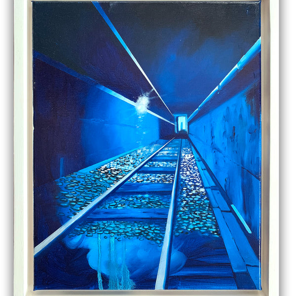 "Chris ""DAZE"" Ellis - Secret Tunnel- Painting"