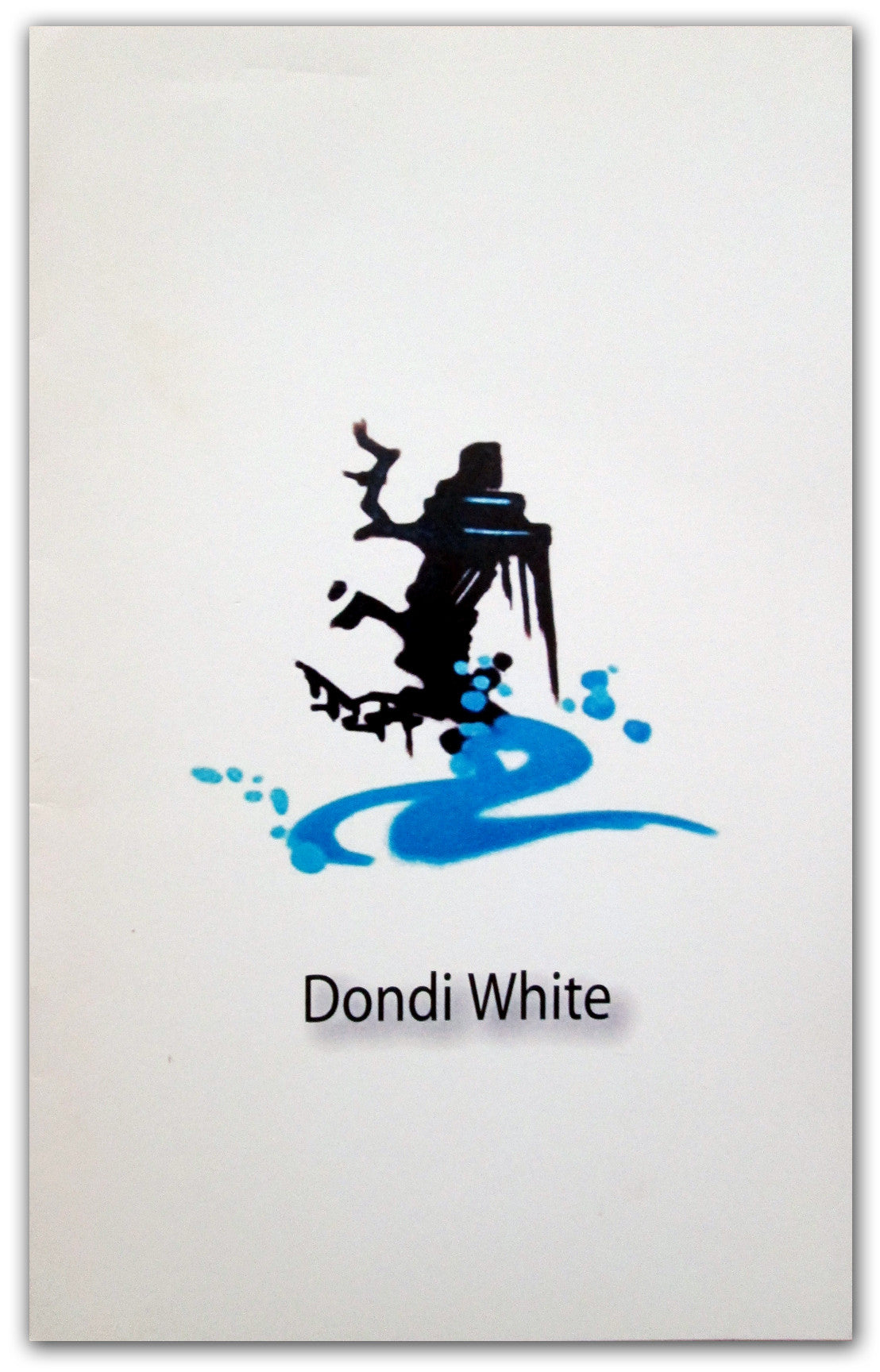 DONDI WHITE - Booklet/Zine