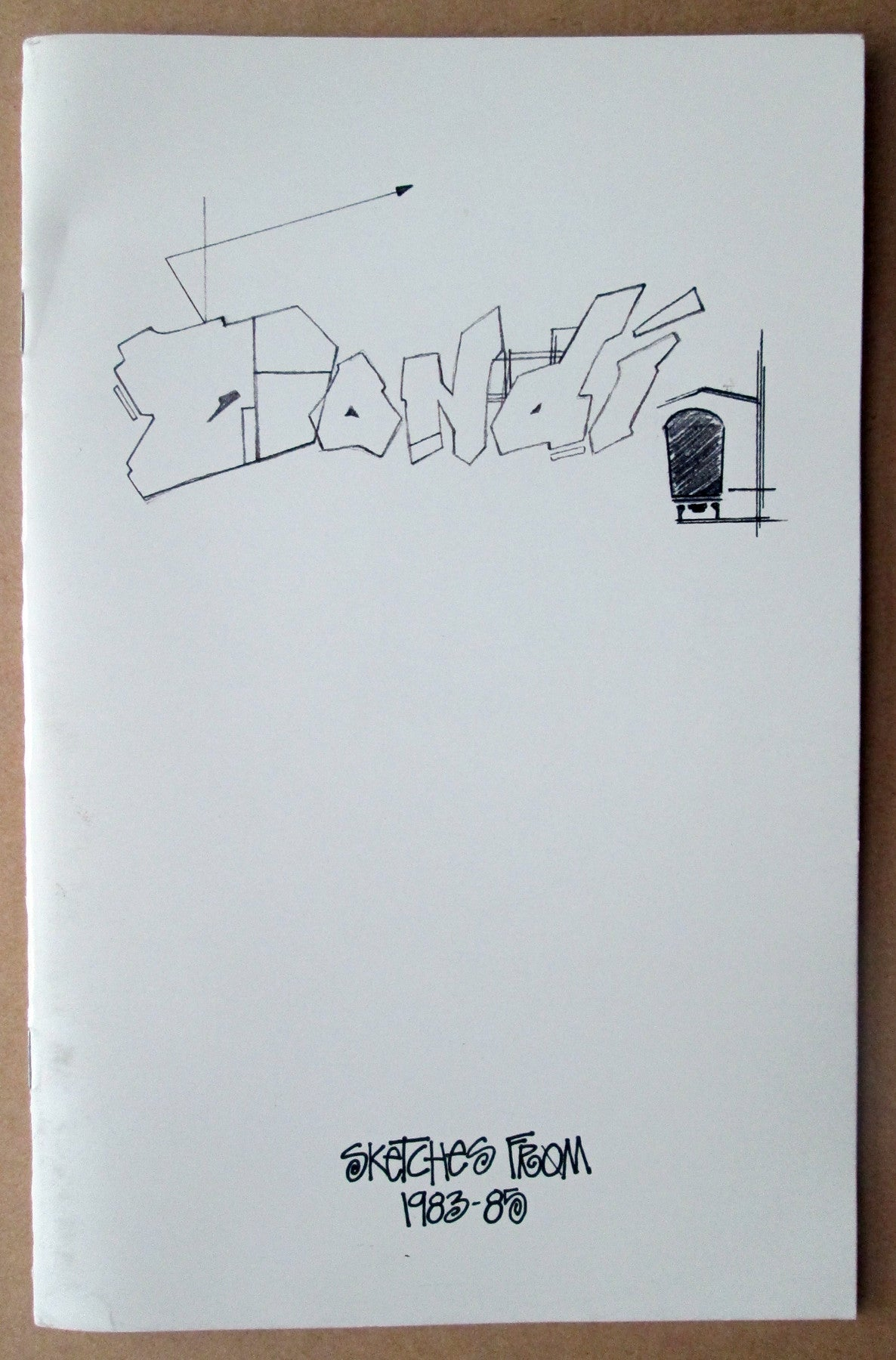 "DONDI WHITE - ""Sketches from 1983-1985"" Booklet/Zine"