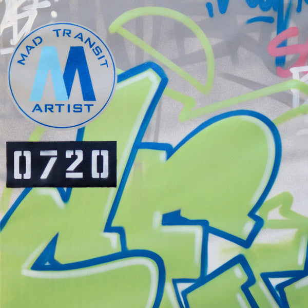 "GRAFFITI ARTIST SEEN - ""Mad Transit #4"" Canvas"