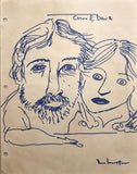 "DANIEL JOHNSTON -  ""Cathy & Dave"""