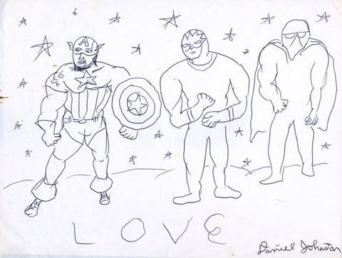 "DANIEL JOHNSTON -  ""Love"""
