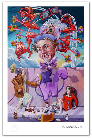 "DAVE MACDOWELL - ""Appetite for Veruca"" -Print"