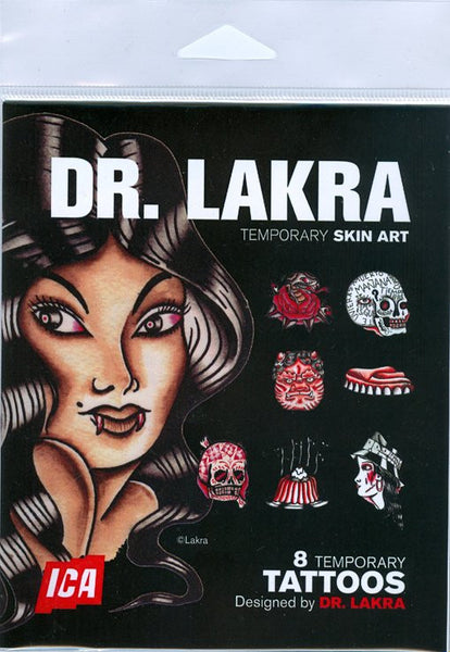 DR. LAKRA - Temporary Tatoo Set