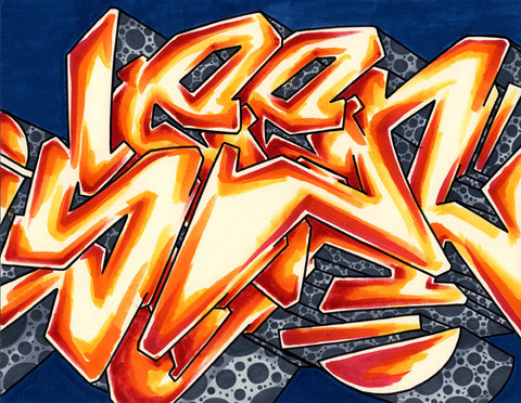 GRAFFITI ARTIST SEEN - WildStyle 18- Drawing