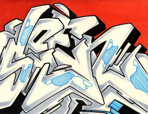 GRAFFITI ARTIST SEEN - WildStyle 19- Drawing