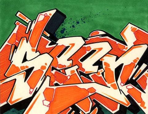 GRAFFITI ARTIST SEEN - WildStyle 22- Drawing