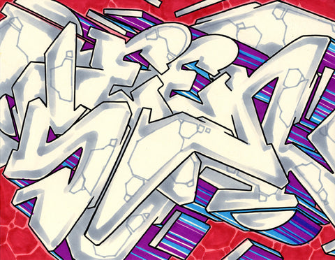 GRAFFITI ARTIST SEEN - WildStyle 26- Drawing