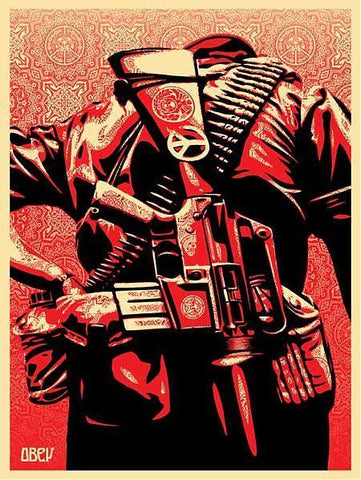 SHEPARD FAIREY - Duality of Humanity 3