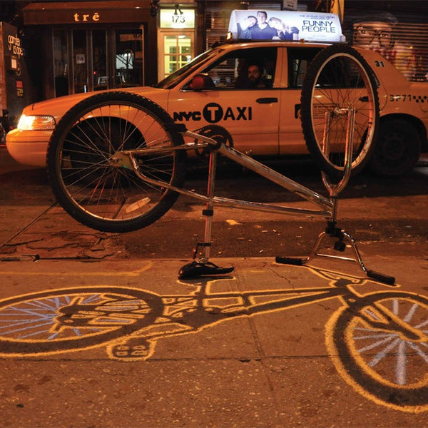 "ELLIS G. - ""NYC Cab w/bike"""
