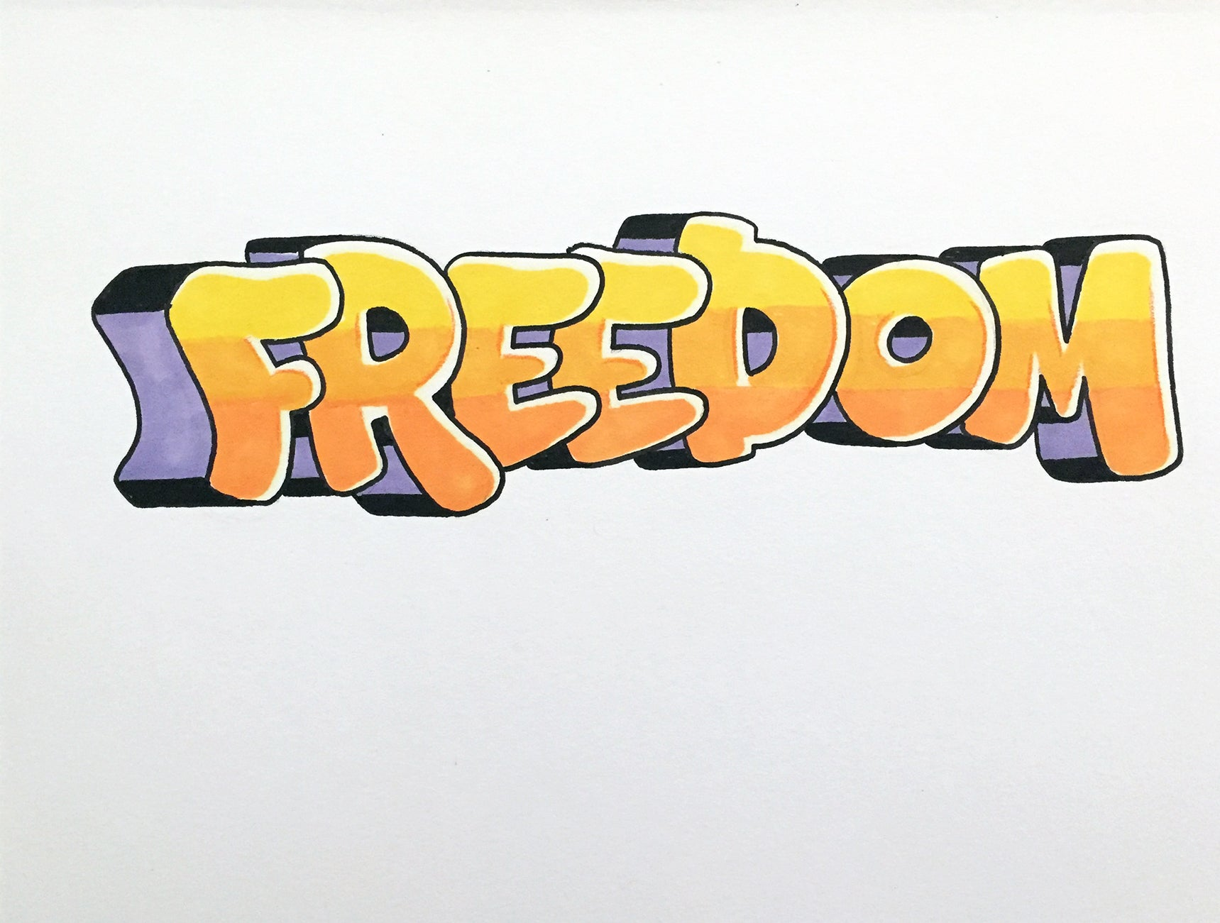 FREEDOM   -  Black Book Page