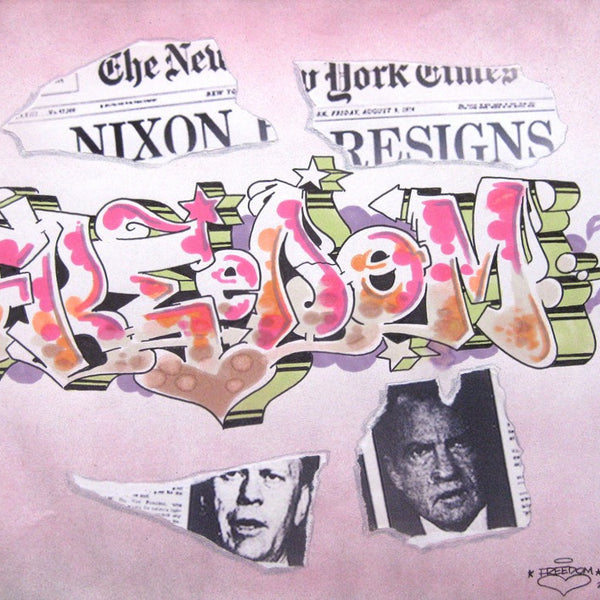 "FREEDOM -  ""Black Book Page"" Nixon"