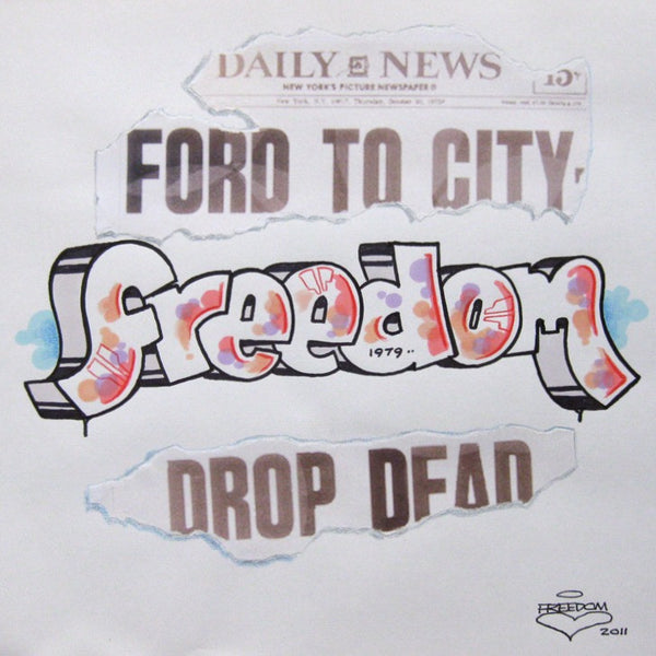 "FREEDOM -  ""Black Book Page"" Drop Dead"