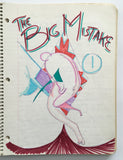 "DANIEL JOHNSTON- ""The Big Mistake"" Notebook Drawing 1980"