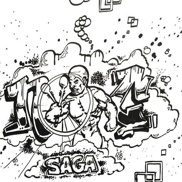 "NOC 167 - ""Saga""  Drawing"