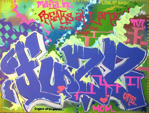FUZZ ONE - Freaks at Large