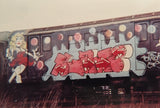 "BLADE  ""Dancin Lady""  Train Painting"