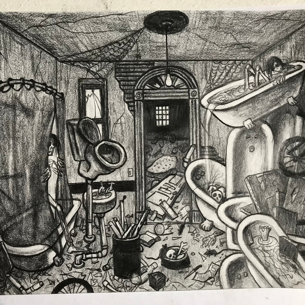 "Rick Prol -  ""Untitled #6"" - Drawing"