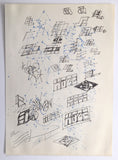 "HAZE  ""KOLD 1983""  Black Book Drawing"