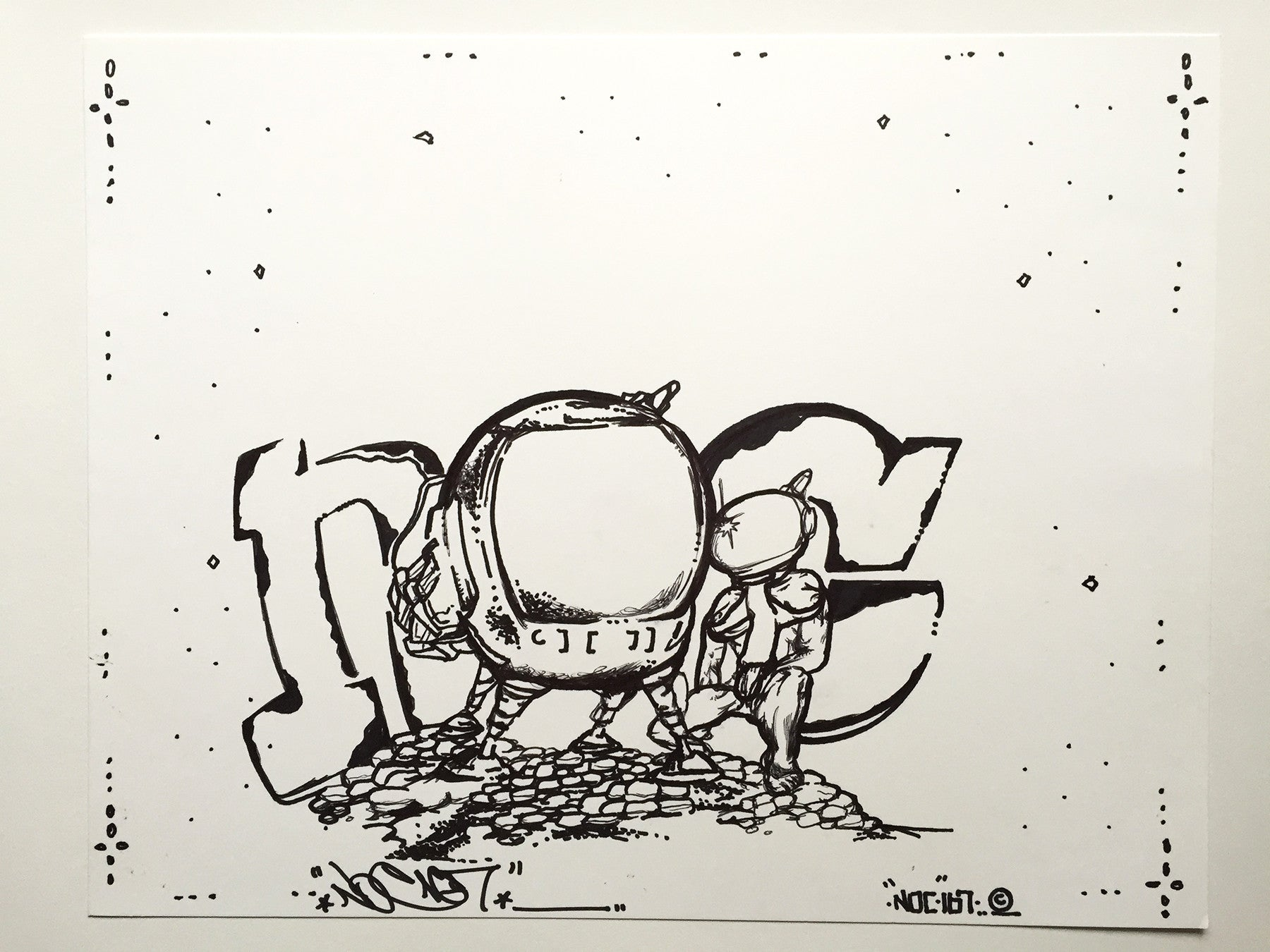 "NOC 167 - ""NOC""  Drawing #5"