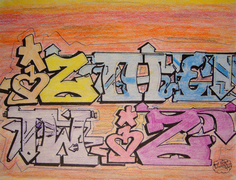 IZ THE WIZ - IZ The Wiz Drawing