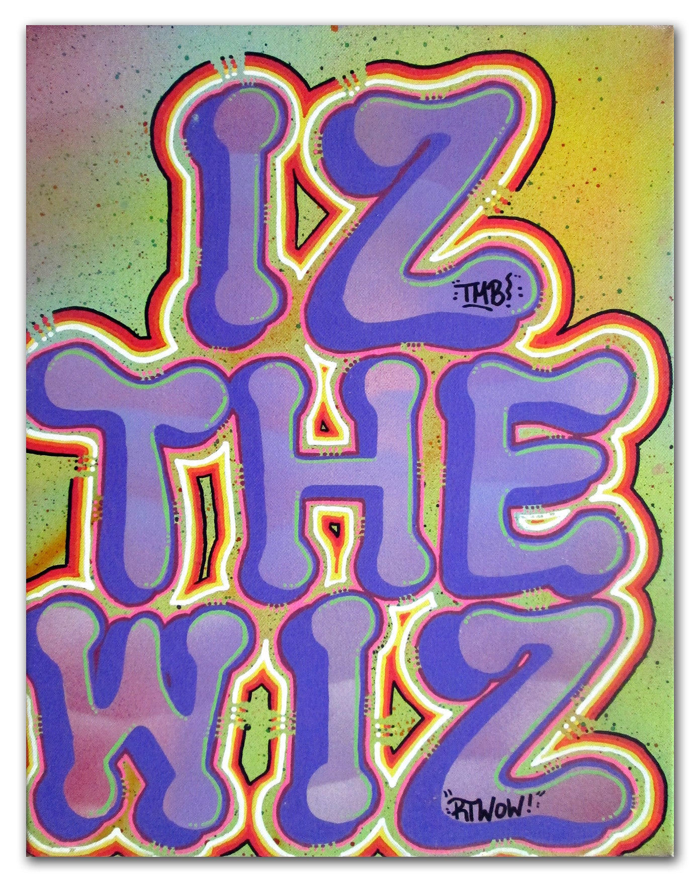 "IZ THE WIZ - ""IZ The Wiz"" Canvas"