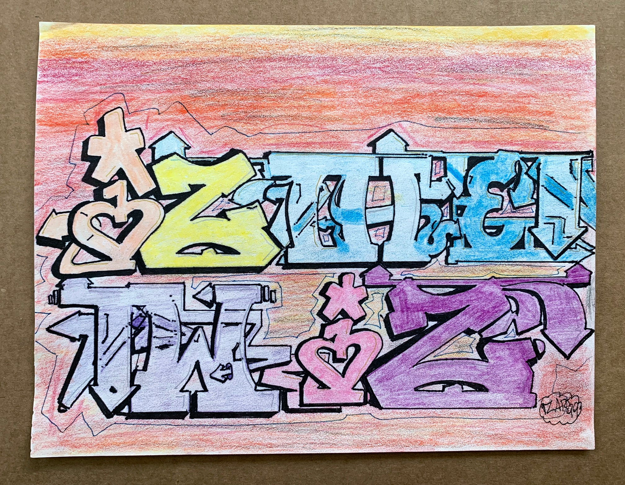 "IZ THE WIZ - "" IZ THE WIZ"" Drawing"