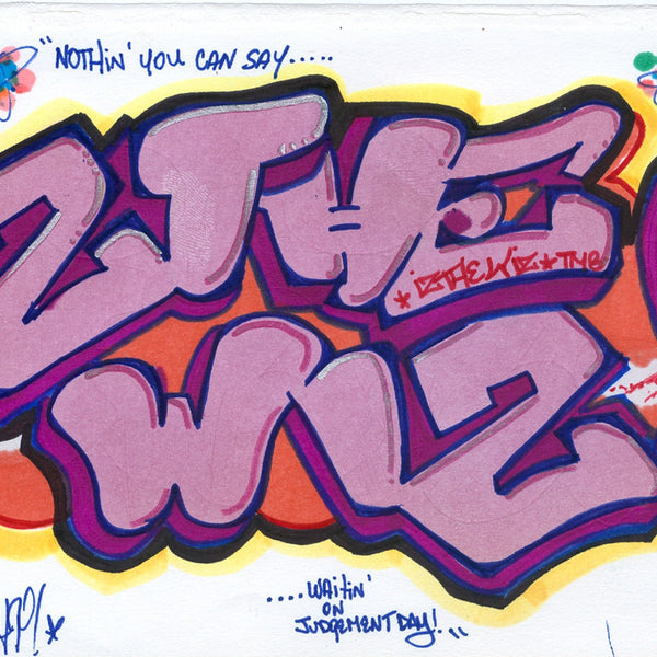 IZ THE WIZ - Black Book Drawing #7